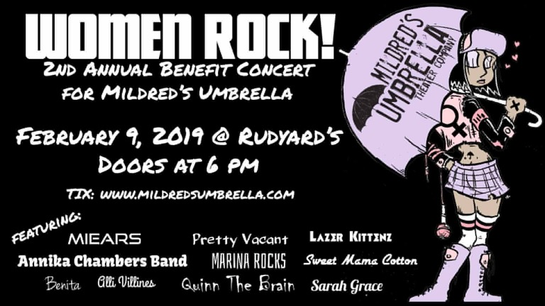 women rock, quinn the brain, mildred's umbrella