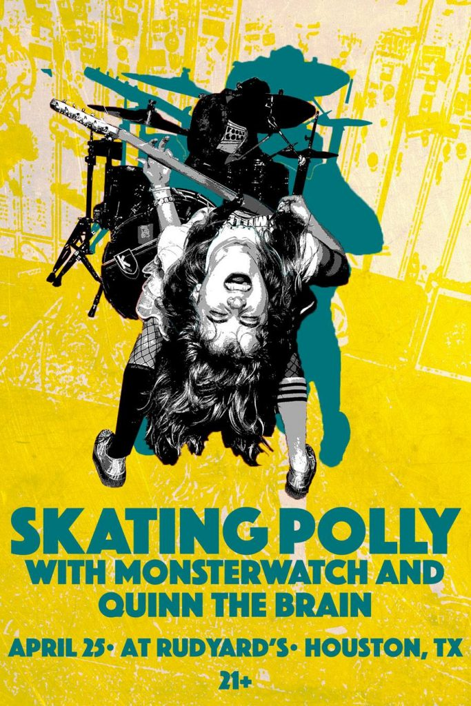 Skating Polly Monsterwatch Quinn the Brain